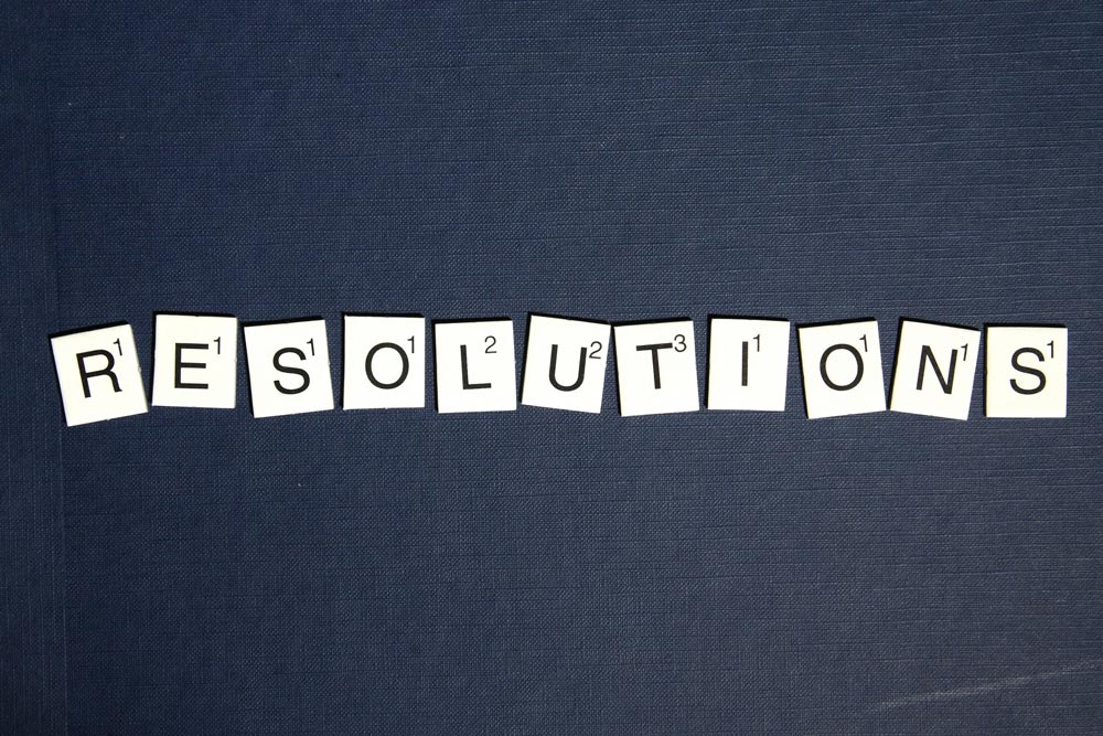 New Year Calls For New Resolutions